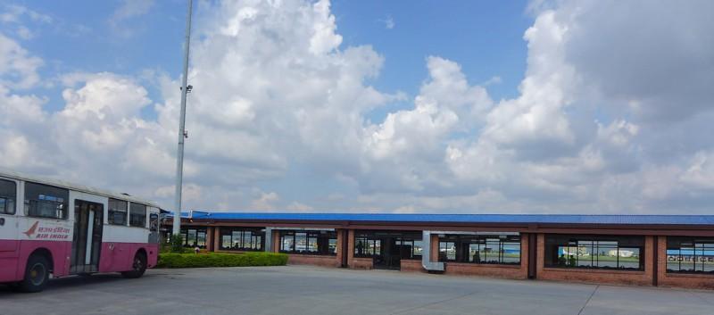 Tribhuvan Airport Kathmandu