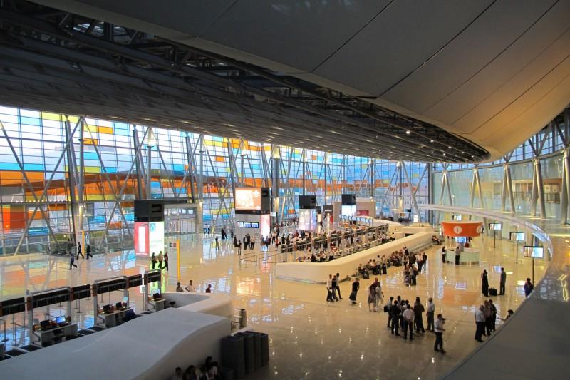 Yerevan Zvartnots airport